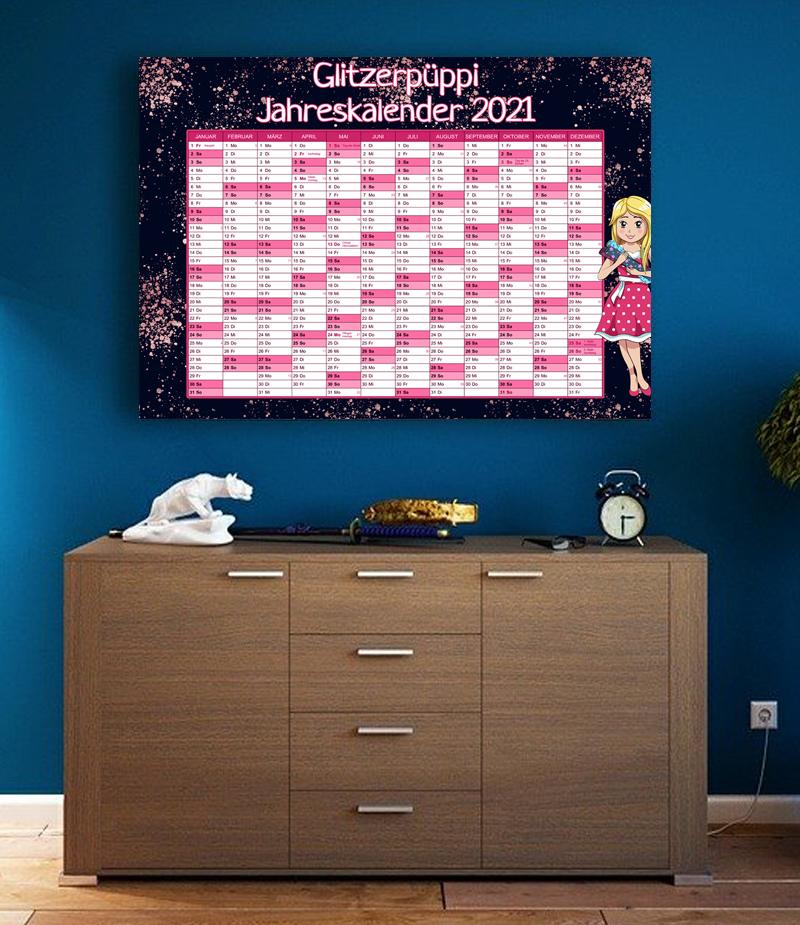 Jahreskalender 2021