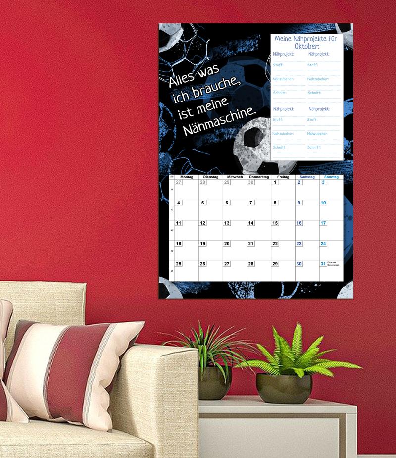 Kalenderblatt Oktober 2021