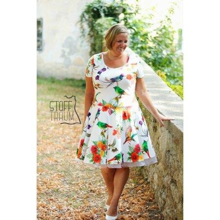 Fadenkäfer Papierschnittmuster Kleid Mary Lou für Damen