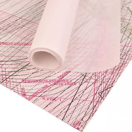 Schnittmusterpapier Blanco 10 Meter