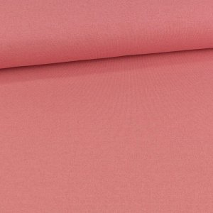 Ganzjahres-Sweat French Terry brushed Uni Glitzer Rose...