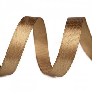 Satinband 10mm Gold