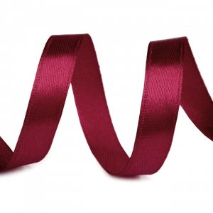 Satinband 10mm Bordeaux