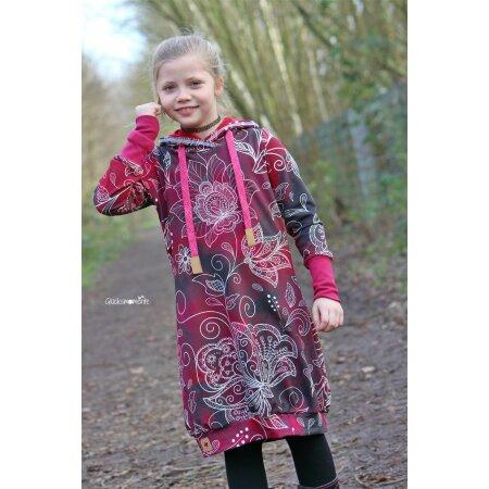 Fadenkafer Papierschnittmuster Kleid Nieke Fur Madchen Gunstig Im Online Shop Kaufen Bei Glitzerpuppi